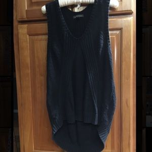 Women's sweater tank/vest